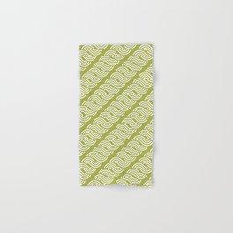 shortwave waves geometric pattern Hand & Bath Towel
