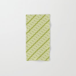 shortwave waves geometric pattern Hand & Bath Towel