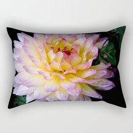 Dahlia Debutante Rectangular Pillow