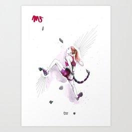 Sleek Scorpio Art Print
