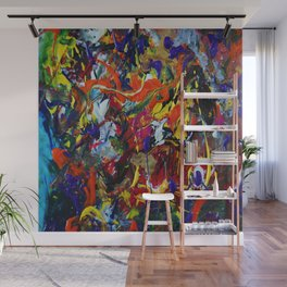 Abstract Experiment Wall Mural