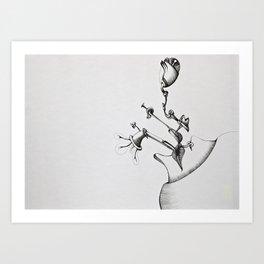 InterAct Art Print