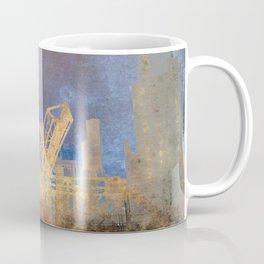 Drawbridge Chicago River City Skyline Coffee Mug