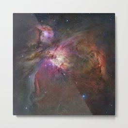 NEBULAS OF THE UNIVESE Metal Print