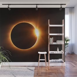 The Eclipse (Color) Wall Mural