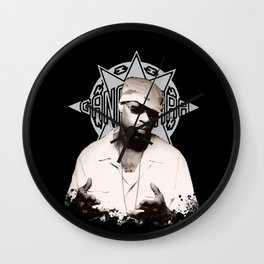 Guru // GangStarr Wall Clock