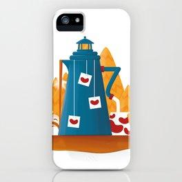 Tea Lighthouse iPhone Case