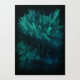 Deep Sea Canvas Print