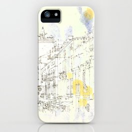 Nothing,my dear, endures iPhone Case
