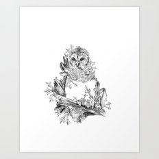 Night Frost Art Print