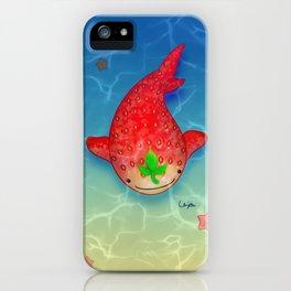 Strawberry Shark iPhone Case