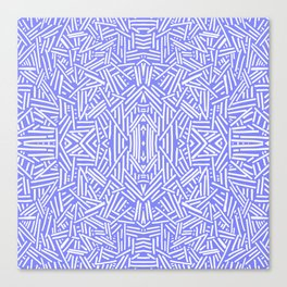 Radiate (Periwinkle) Canvas Print