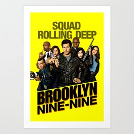 brooklyn 99 Art Print