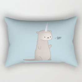 Otterly Magical Rectangular Pillow