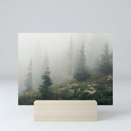 Mt Hood National Forest Mini Art Print