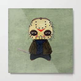 A Boy - Jason ( Friday the 13th) Metal Print