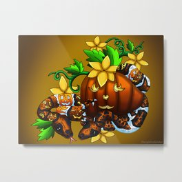 Halloween Artwork #3 (2018) Metal Print