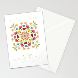 A Symphony Of Floral Delights Stationery Cards