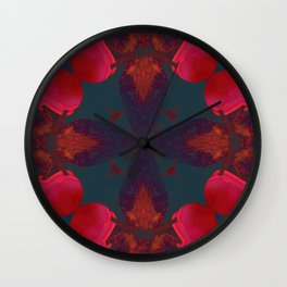 Mandala V Wall Clock
