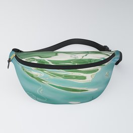 Blue and Green Fanny Pack