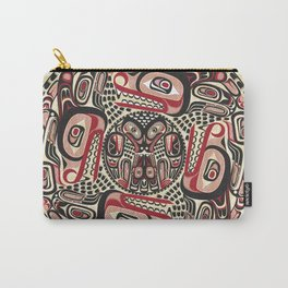 Creation Story - Four Wolves Carry-All Pouch
