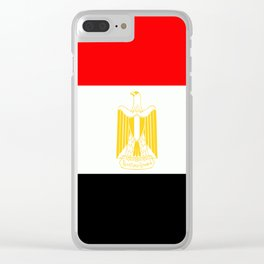 Flag of Egypt Clear iPhone Case