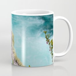Spectacular view of a stormy ocean Coffee Mug