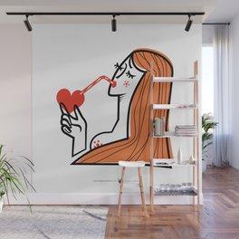 Bitter Sweet Love - Woman Wall Mural