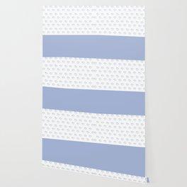 Ducklings light blue Wallpaper
