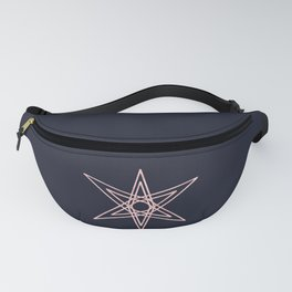 6 point star Fanny Pack