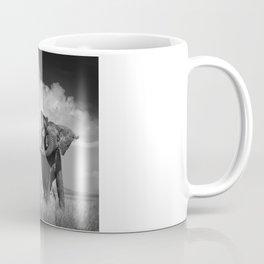 Elephant Throwing Dirt Coffee Mug
