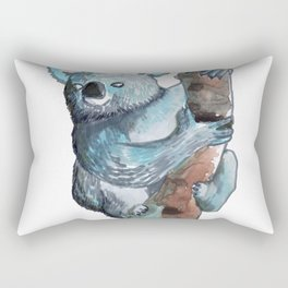 the koala awesome Rectangular Pillow