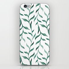 Blue branches. iPhone & iPod Skin