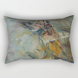 Dance like a flight Rectangular Pillow