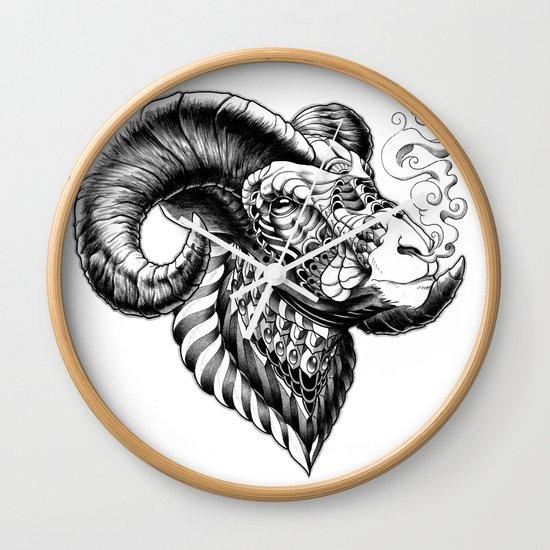 Bighorn Sheep Wall Clock