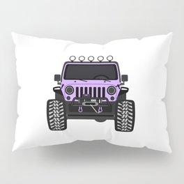 [JEEP] Lavender Pillow Sham