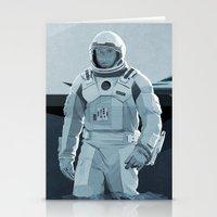 interstellar Stationery Cards featuring Interstellar by ANDRESZEN