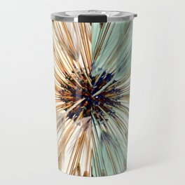 Mirror Wheat Burst I Travel Mug