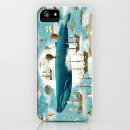 Ocean Meets Sky - book cover iPhone Case