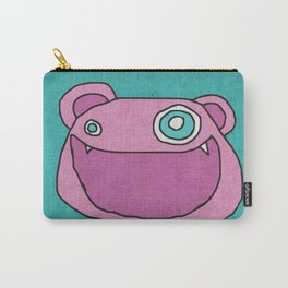 Slightly Amused Monsters, XIII Pink Carry-All Pouch