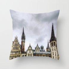 Gent II Throw Pillow