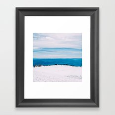 Rainier Summit Framed Art Print
