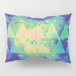 Space triangles 01 Pillow Sham