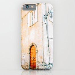 Orange Architecture Villa in Lake Como, Italy iPhone Case