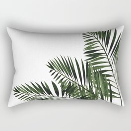 Tropical Exotic Palm Leaves I Rectangular Pillow