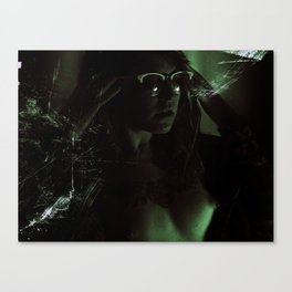 Suicide Witch in Critique II Canvas Print