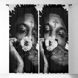 21 Savage art Blackout Curtain