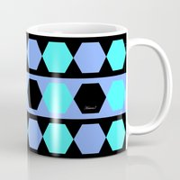 polygon Mugs featuring Polygon by Heaven7
