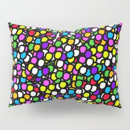 Bubble GUM Colorful Balls Pillow Sham