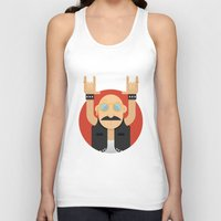 rock and roll Tank Tops featuring Rock&Roll by Gerardo Lisanti